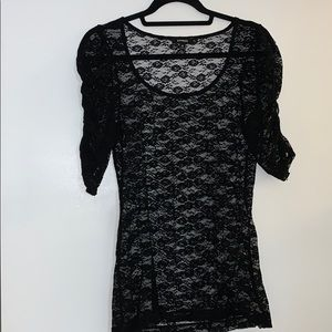 Express / black / lace / sexy / cute / size Med